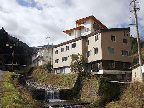 ハチ北温泉 内湯旅館 SASAYAの外観