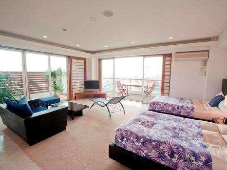 【801号室~久高島~】『ひっ、広い』と、お客様がびっくりするほどの、全室100平米の広い~お部屋♪