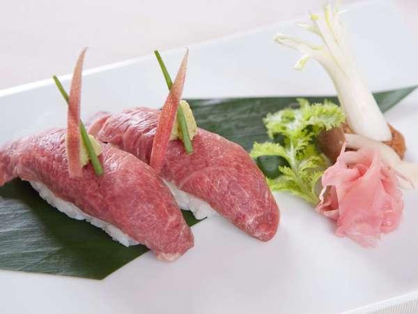 A5ランクの石垣牛の握り寿司は、新しい味覚を皆様にお伝え致します。