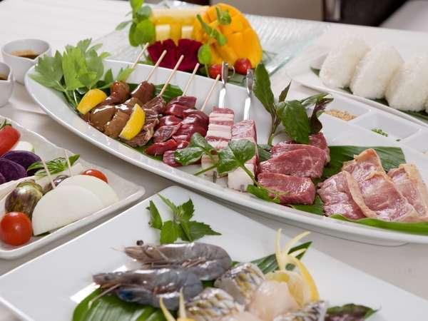 お部屋にご用意する厳選された食材を存分にご堪能頂いて、沖縄ならではの夏をお楽しみ下さい♪