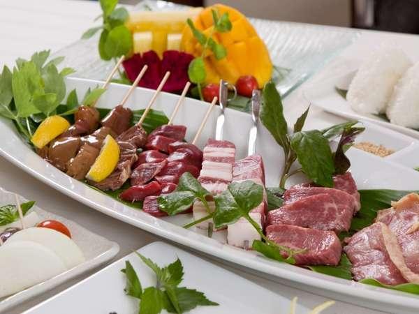 お部屋で楽しむ事のできる厳選された食材を存分にご堪能頂いて、沖縄ならではの夏をお楽しみ下さい♪