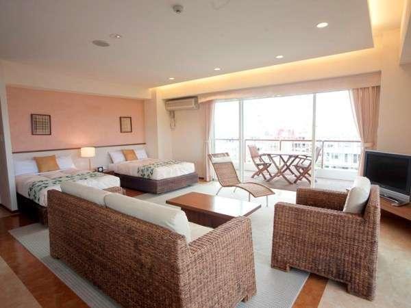 【602号室~小浜島~】1フロアに2部屋のみ、全室ジャグジー付が自慢です♪