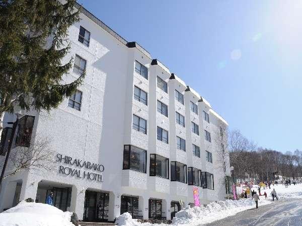 白樺湖ロイヤルホテルの外観