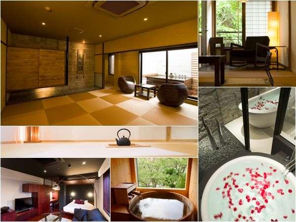 吉田屋のは全8typeの客室をご用意致しております。あなた様のその日のstyleでご利用下さい。