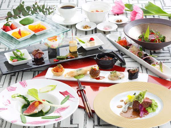 ★【夕食&雰囲気重視】ディナーは2017春オープン♪最上階で楽しむ美愉コース付き・琵琶湖確約プラン