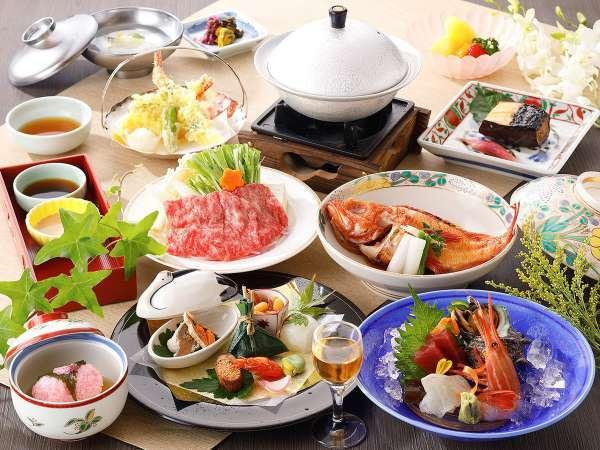 ◎【スタンダード】◎お料理重視!日本料理を愉しむ〜夕・朝食付きプラン〜