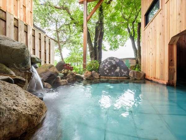 貸切風呂「青根の湯」は15時~21時、朝8時~10時迄、いつでも30分無料でご入浴可。金曜不可