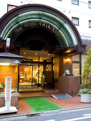 ザ・ホテル大亀の外観