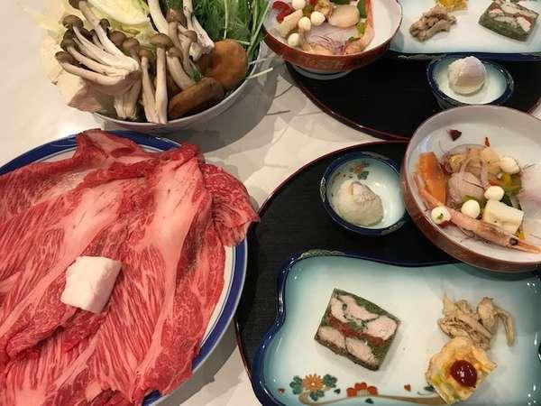 ご夕食は滋賀牛のすき焼き/朝食は焼きたてパンの洋食/2食付き/サニービーチが目の前