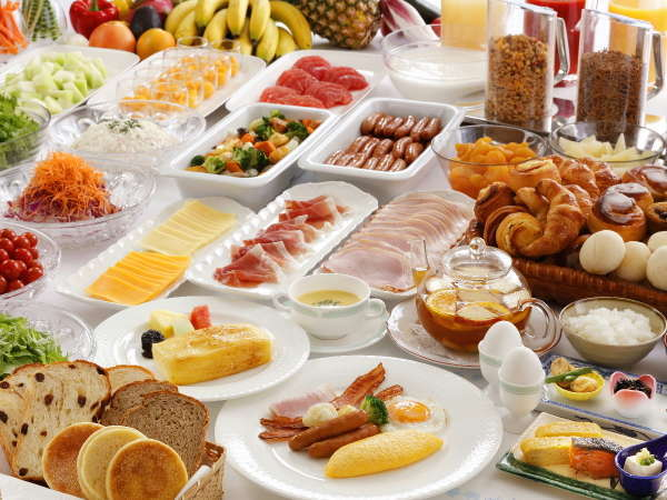 約70種の料理が愉しめる朝食ブッフェ※イメージ