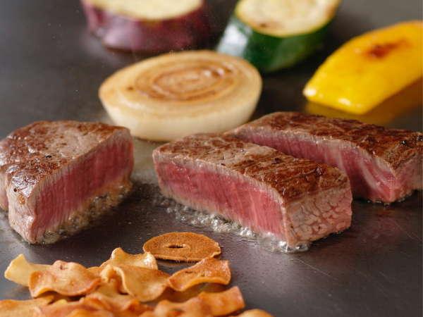 鉄板焼「さざんか」料理例 ※イメージ