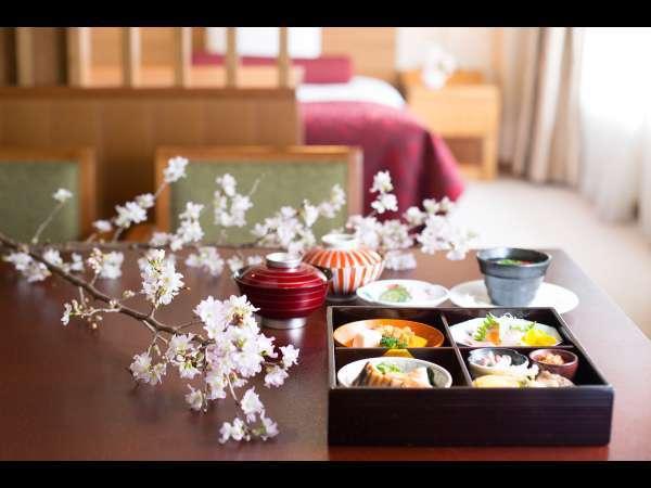 アートフラワースイート~桜~夕食