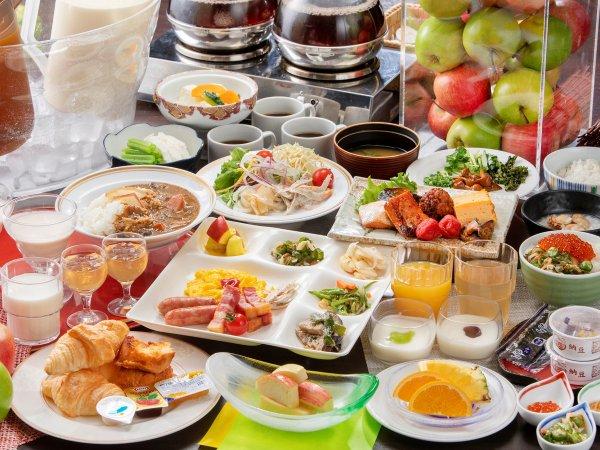 朝食バイキング~青森の郷土料理を含めた和洋バイキング