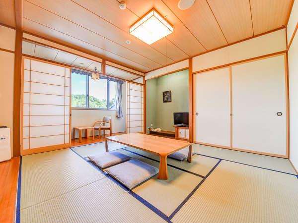 *【和室8畳】畳のお部屋でのんびりおくつろぎ。<加湿機能付き空気清浄器完備>