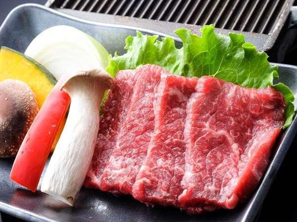 【訳あり×室数限定】夕食はリーズナブルに品数をおさえた和牛陶板焼き膳+季節の釜飯♪