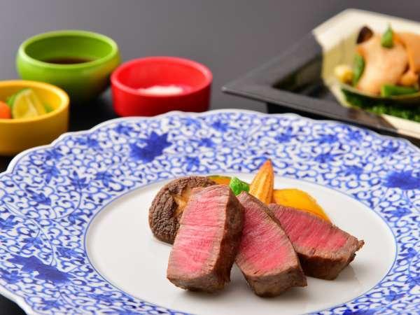 【鳥取和牛★】よくばりプラン!!鳥取和牛フィレステーキと鮑のバター焼きが食べれる★豪華な炭焼きコース
