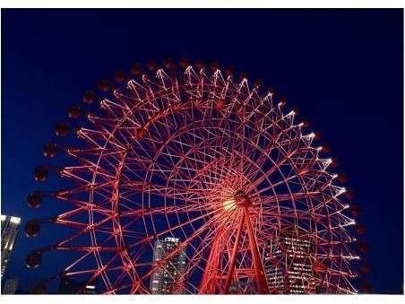 【素泊り・カップル限定】赤い観覧車搭乗チケット付カップルプラン
