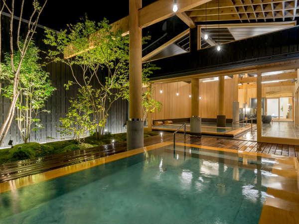 あわら初の炭酸泉の浴槽を設置、第3の新大浴場「木もれ陽の湯」(男女入替制)