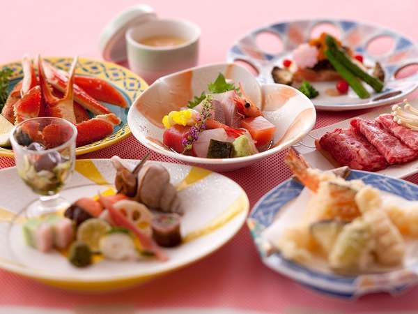 『呉羽ハイツ』の会席料理