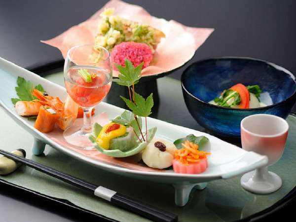 ◆◆おすすめ!選べる米沢牛・季節の会席膳 ■メイン1品チョイス【貸切温泉・無料】