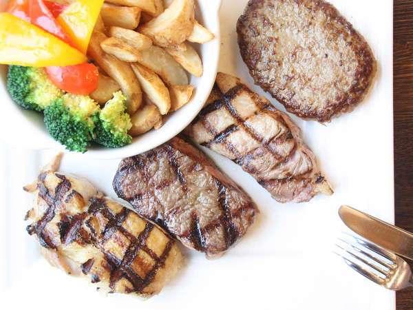 【ファミリープラン】添寝のお子様は朝食&夕食無料!家族で楽しむステーキディナー(夕朝食付)
