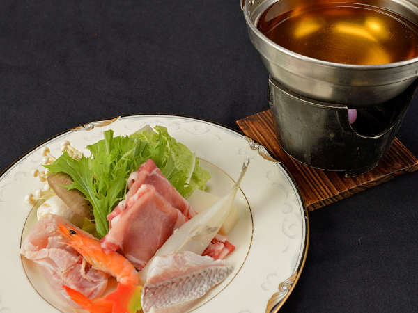 【メインが選べる♪】あなたはお肉派?お魚派?和牛の陶板焼きor海鮮蒸しのチョイスプラン<2食付>
