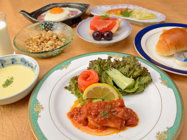 【選べる朝食プラン】和食または洋食♪お好きな方を選んで一日を元気にスタート!