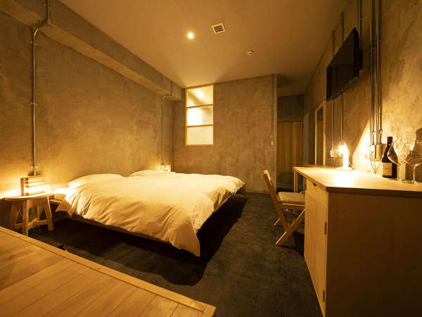 "3F Hotel Area『ブドウを醸す』ワインカーブをイメージしたお部屋""Deluxe Twin"""