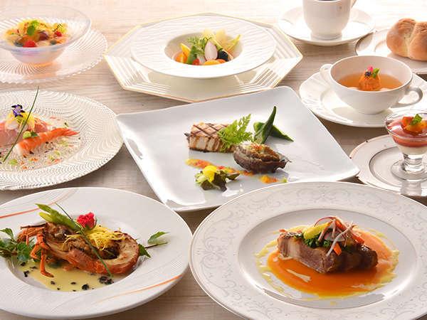 【料理重視の方必見!】 夕食はホテル最高ランクをご用意《特選フレンチコース》