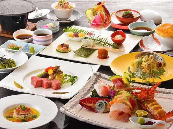 【料理重視の方必見!】 夕食はホテル最高ランクをご用意《特選和食会席》