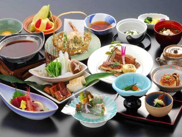 【うなぎづくし会席】浜名湖の名産『鰻』をさまざまなお料理でどうぞ!