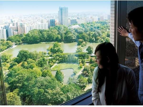 日本都市公園に認定された中島公園を一望できるのは、プレミアホテル中島公園札幌だけ♪