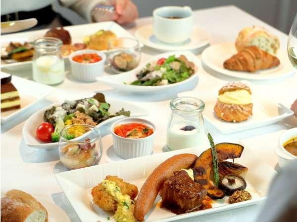 【朝食】道産食材を使用したこだわりの朝食メニュー