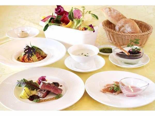 新鮮イタリア野菜と厳選食材のヘルシーイタリアンコースプラン
