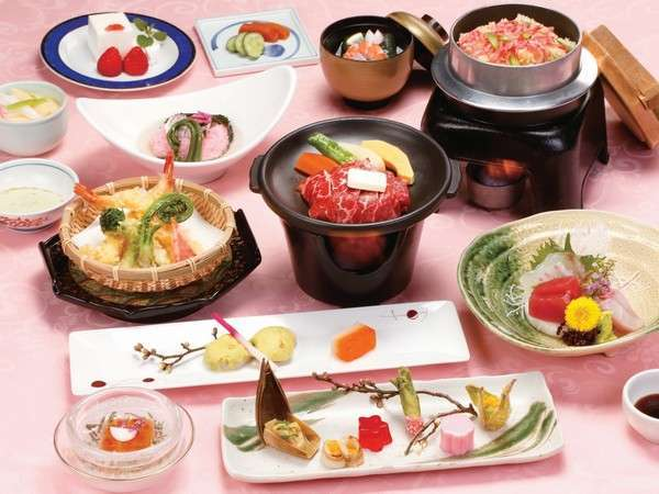 【1泊2食】和食会席プラン 季節の香り