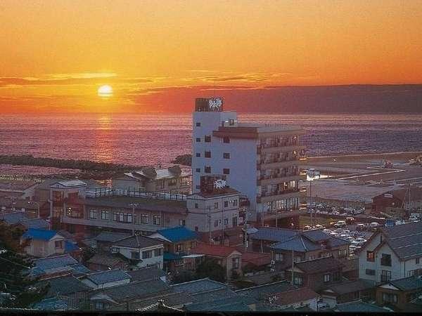 海風亭 寺泊 日本海
