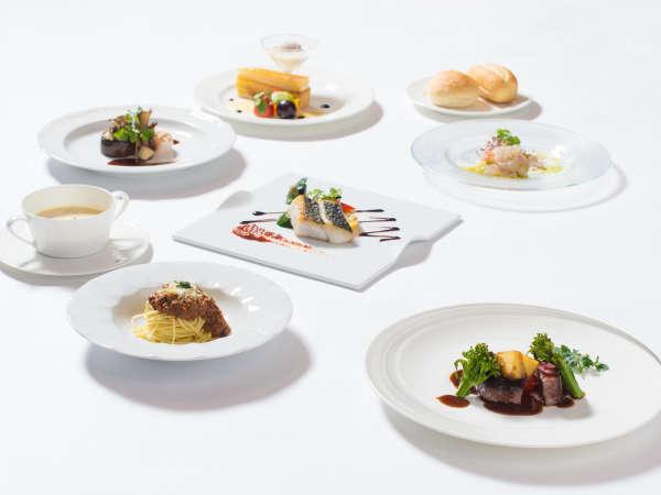 ◆2食付◆<人気No.1洋食プラン!>オープンテラスのレストラン『THE ONE』〜地中海料理「サンセット」