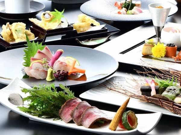 ◆2食付◆<グレードアッププラン>厳選食材を堪能『九十九島竹彩』〜五感で味わう「浜撫子会席」