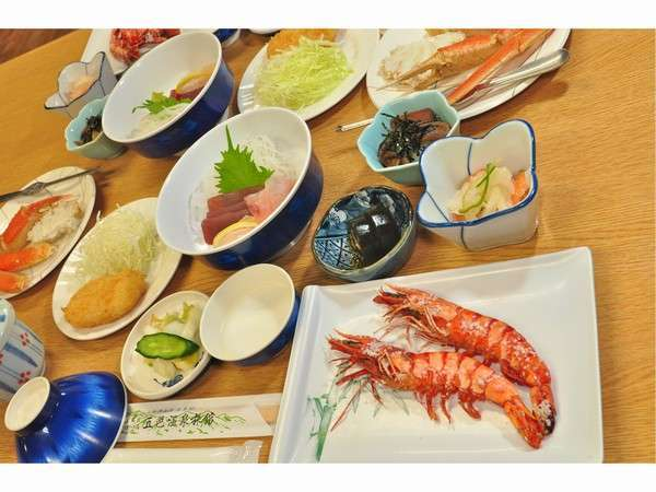 お料理グレードUP☆満腹&満足デラックスプラン 2食付 【旅して応援!】