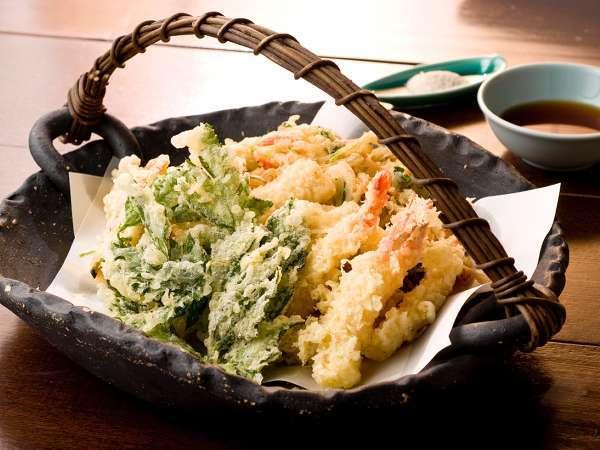 ★季節の食材を贅沢に。熱々天ぷらを召し上がれ♪