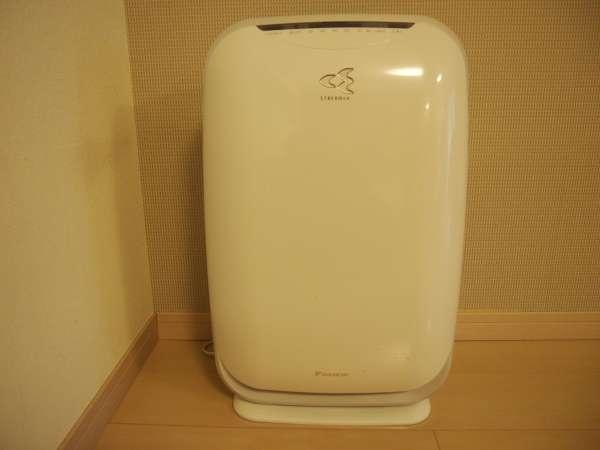★空気清浄器も全部屋に完備しています♪