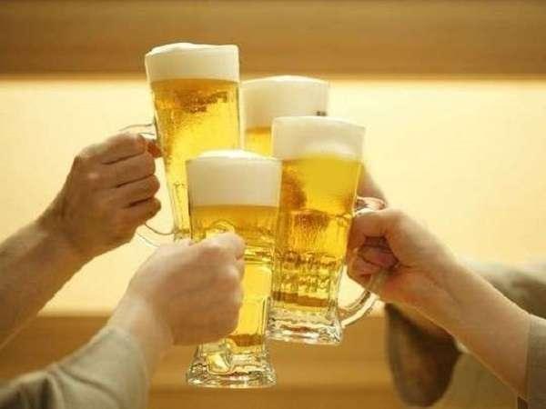 飲み放題付プランでみんなで乾杯♪