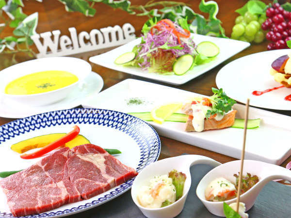 ディナー◆彩り溢れるお料理の数々