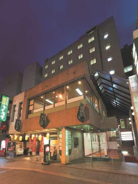 熊本グリーンホテルの外観
