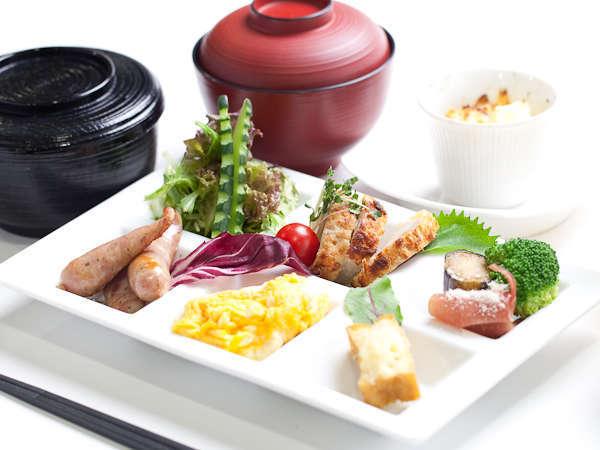 地野菜を使ったフレッシュサラダやフワフワ卵料理は栄養たっぷり!
