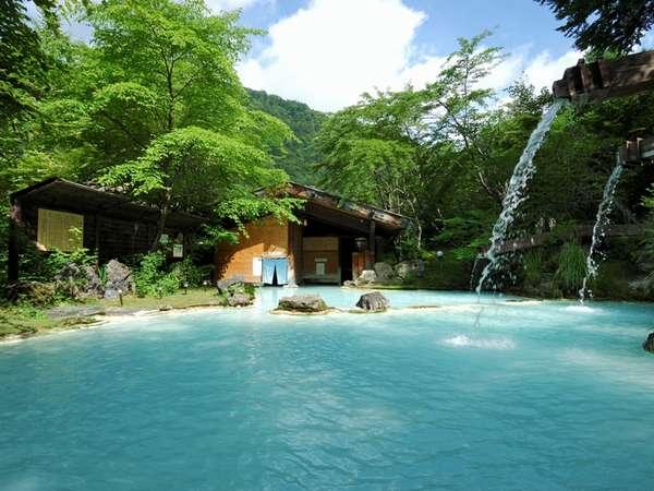 四季折々の自然を楽める大露天風呂