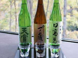 【米どころ宮城の地酒】当ホテルおすすめ地酒(利き酒セット三種付き♪)と懐石料理を堪能する♪