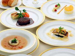 【クレセント特選料理コース】シェフが奏でる当ホテル最高グレードのフレンチフルコースを満喫♪