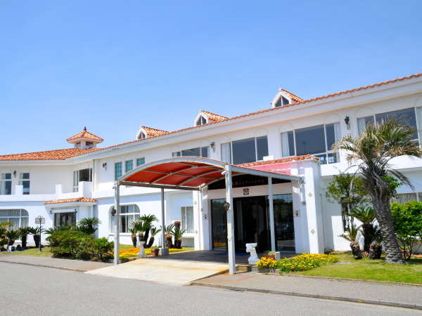 館山リゾートホテルの外観