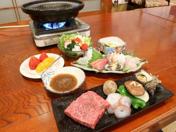 【2食付】お肉も魚も楽しめる♪美味しい家庭料理と泉質自慢の温泉をリーズナブルに満喫